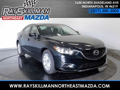 New Mazda6 4DR SDN SPORT AT